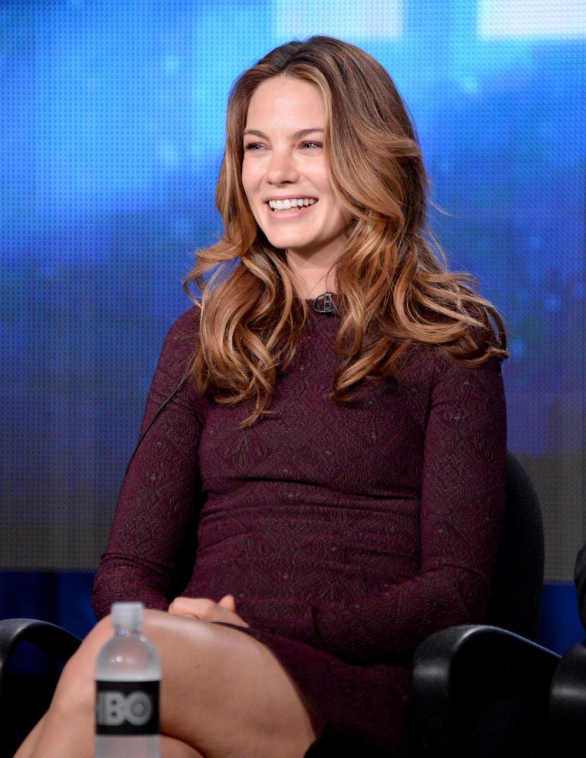 MICHELLE MONAGHAN at HBO Panel at 2014 Winter TCA Presentations in Pasadena