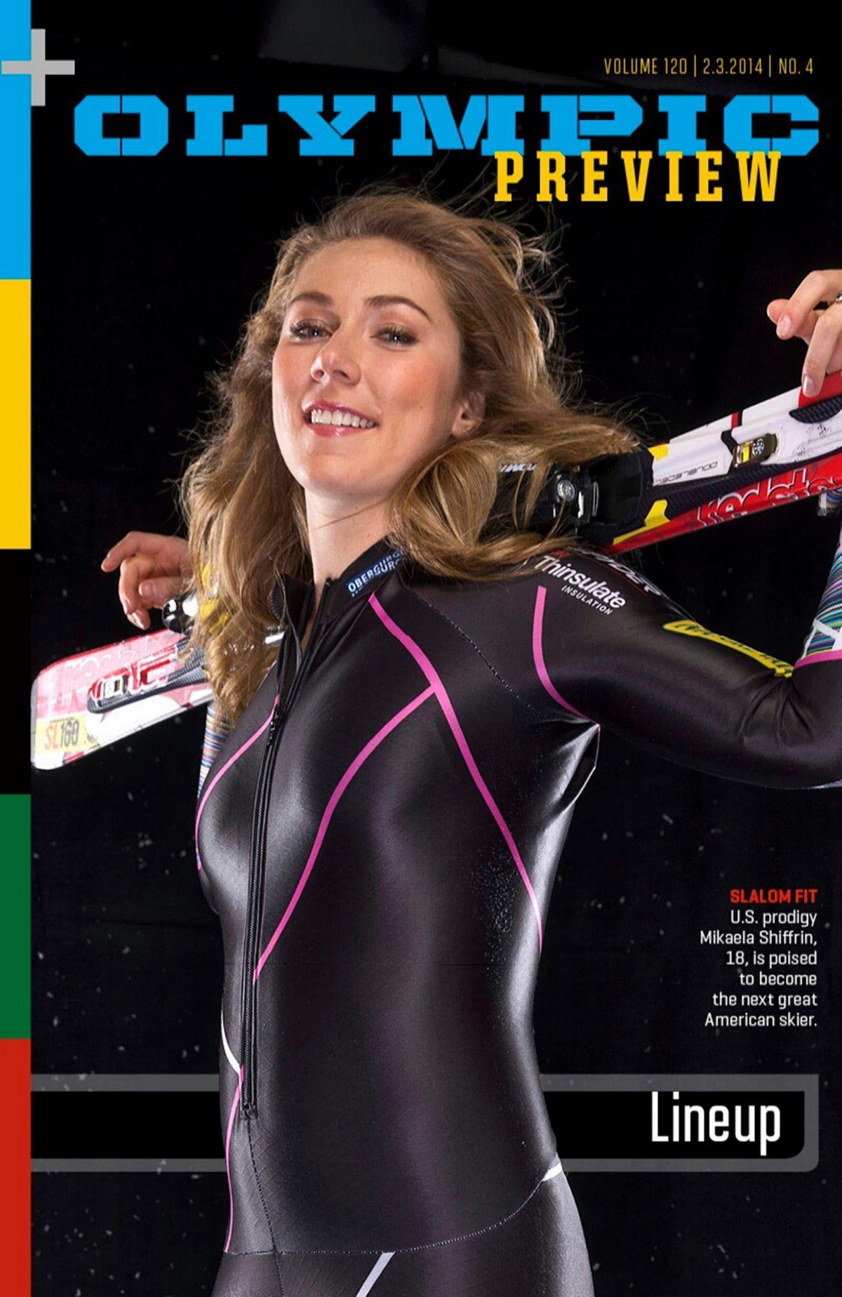 MIKAELA SHIFFRIN - Sports Illustrated Magaznie, February 2014 Issue - HawtCelebs