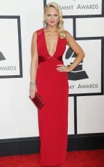 Miranda Lambert at 2014 Grammy Awards in Los Angeles