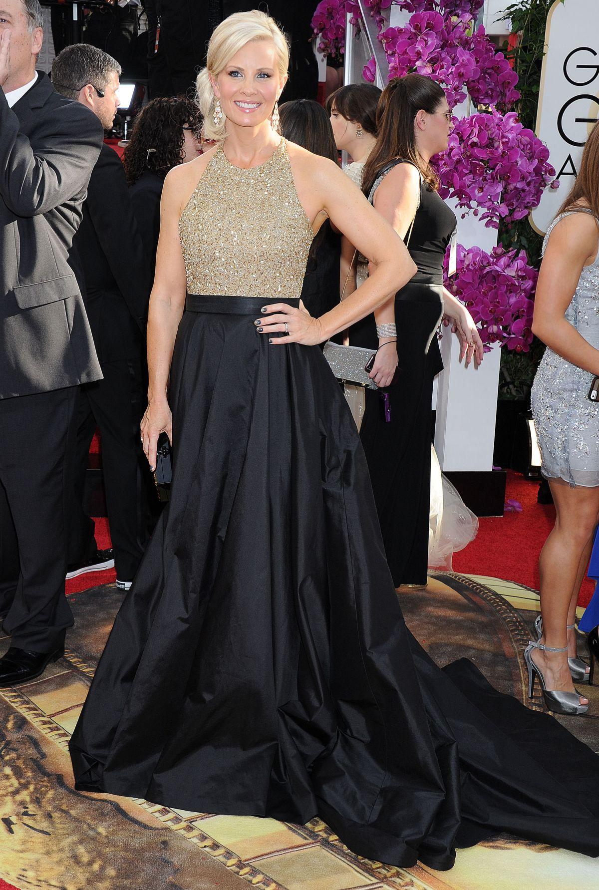 MONICA POTTER at 71st Annual Golden Globe Awards