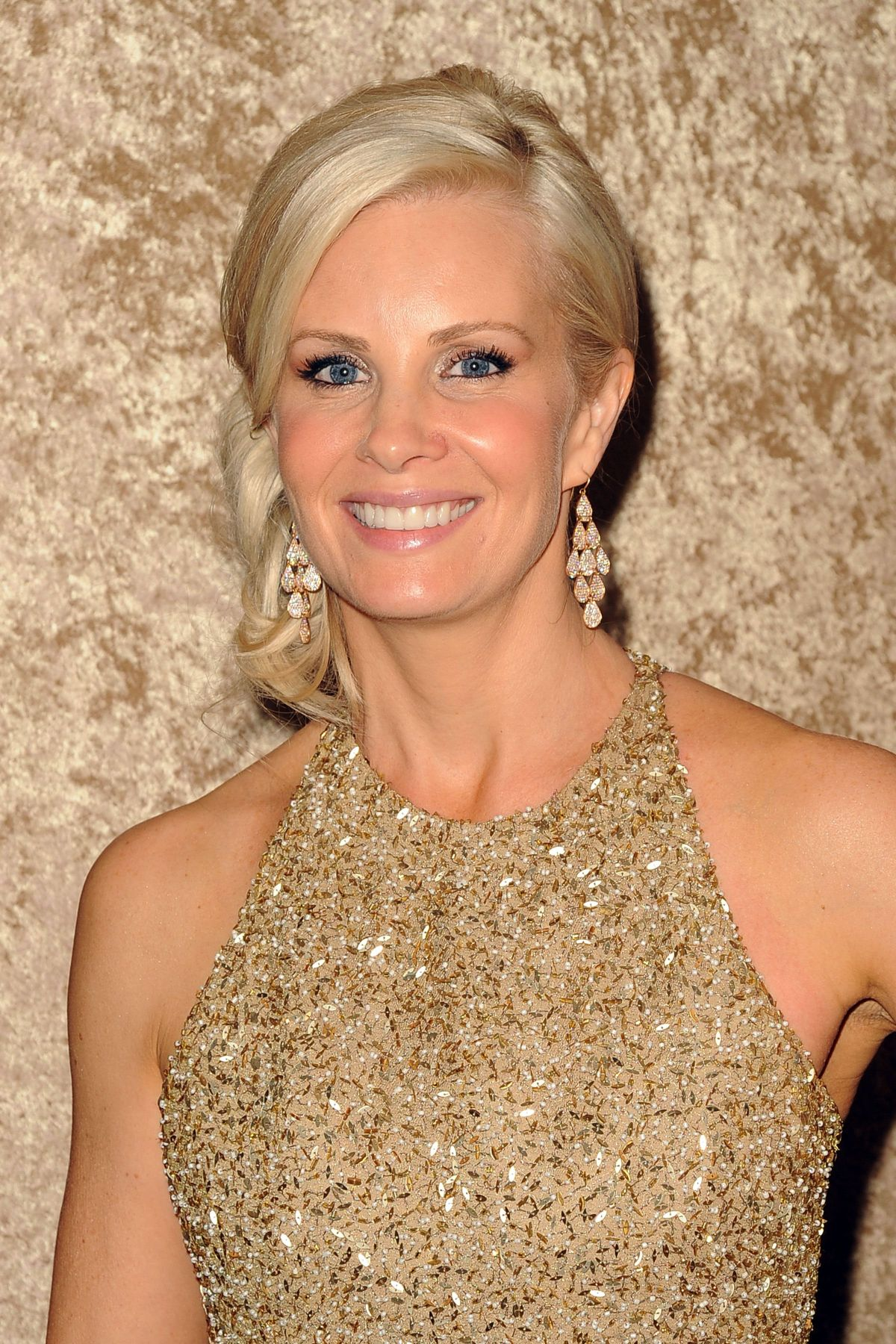 MONICA POTTER at HBO Golden Globe After Party