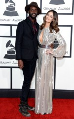 Nicole Trunfio at 2014 Grammy Awards in Los Angeles