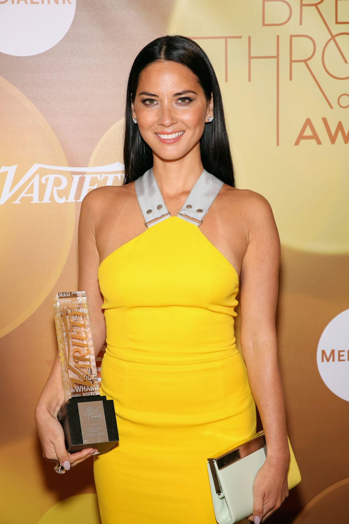 Olivia Munn At 2014 Variety Breakthrough Of The Year