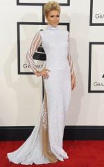 Paris Hilton at 2014 Grammy Awards in Los Angeles