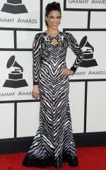 Paula Patton at 2014 Grammy Awards in Los Angeles