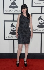 Pauley Perrette at 2014 Grammy Awards in Los Angeles