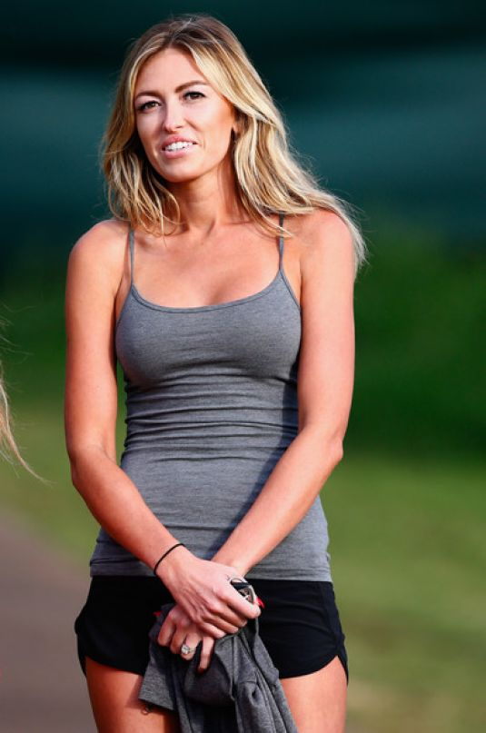 PAULINA GRETZKY at Hyundai Tournament of Champions in Hawaii