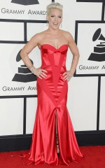 Pink at 2014 Grammy Awards in Los Angeles