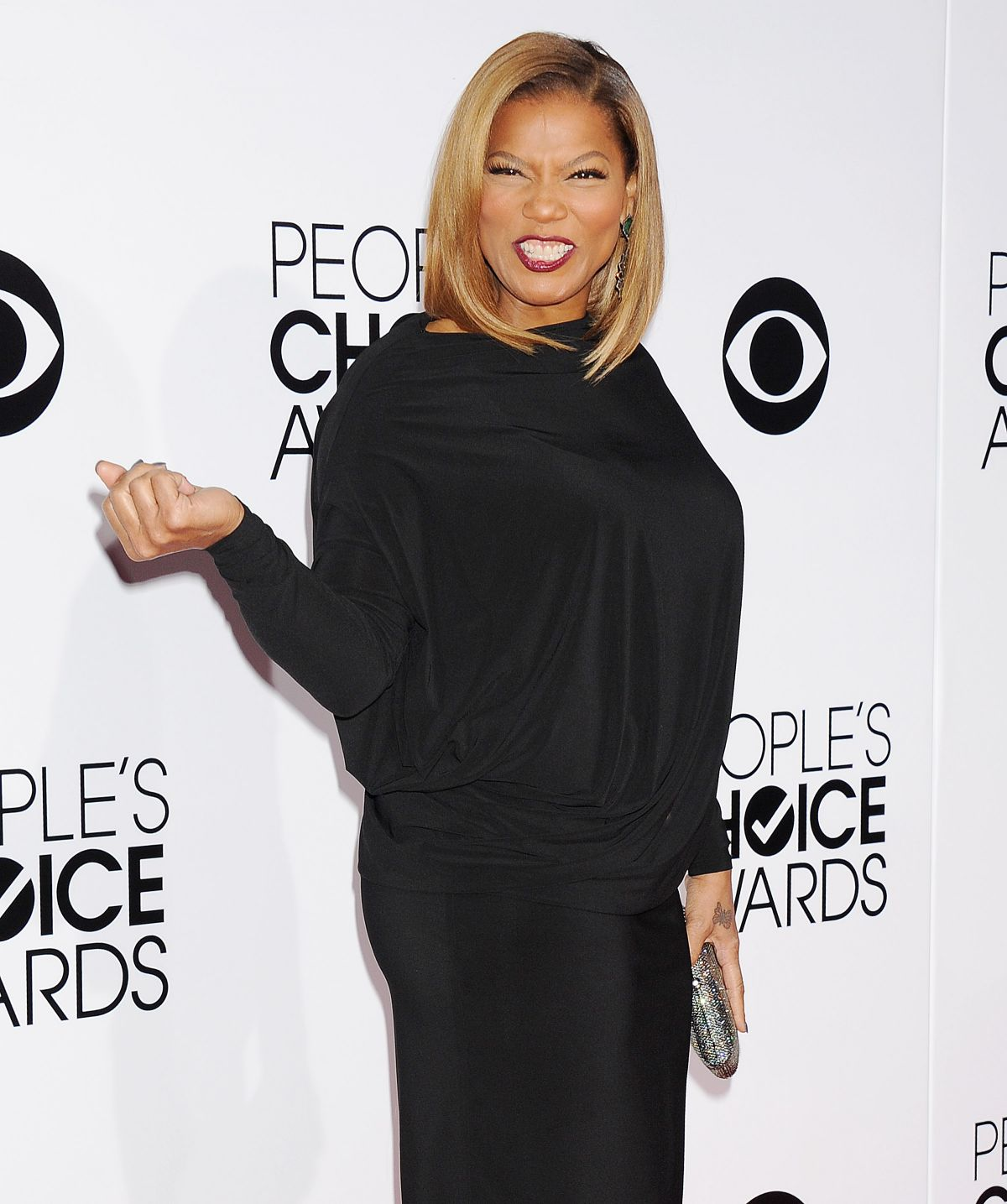 QUEEN LATIFAH at 40th Annual People's Choice Awards in Los Angeles