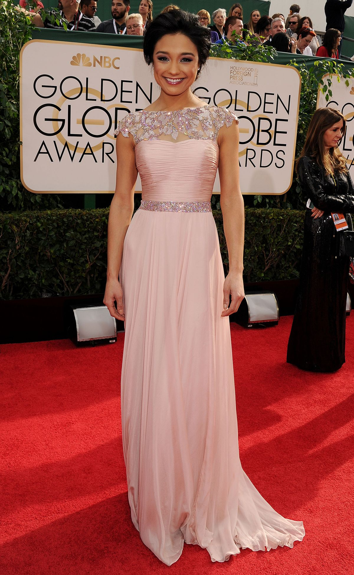 RACHEL SMITH at 71st Annual Golden Globe Awards