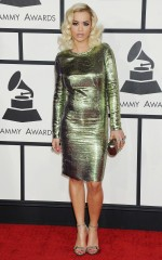 Rita Ora at 2014 Grammy Awards in Los Angeles