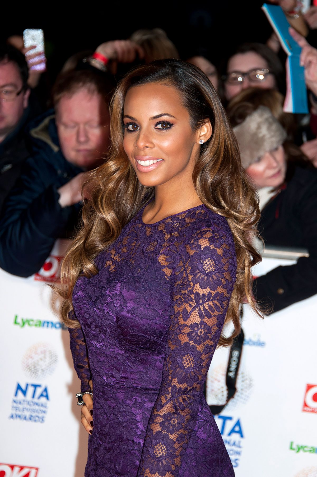 ROCHELLE WISEMAN at 2014 National Television Awards in London
