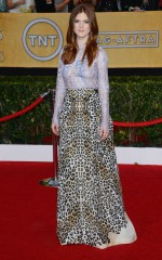 Rose Leslie at 20th Annual Screen Actors Guild Awards in Los Angeles