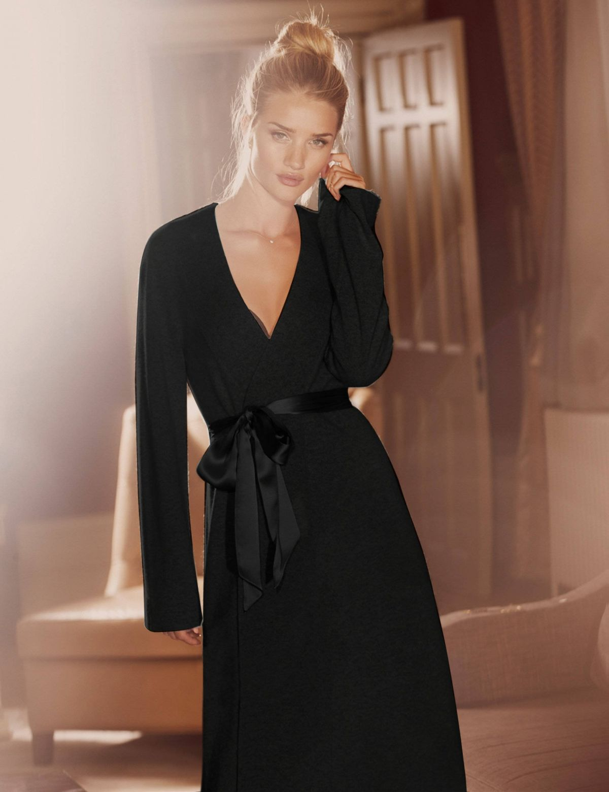 Famous Long Black Dressing Gown Gift - Top Wedding Gowns ...