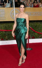 Sandra Bullock at 20th Annual Screen Actors Guild Awards in Los Angeles