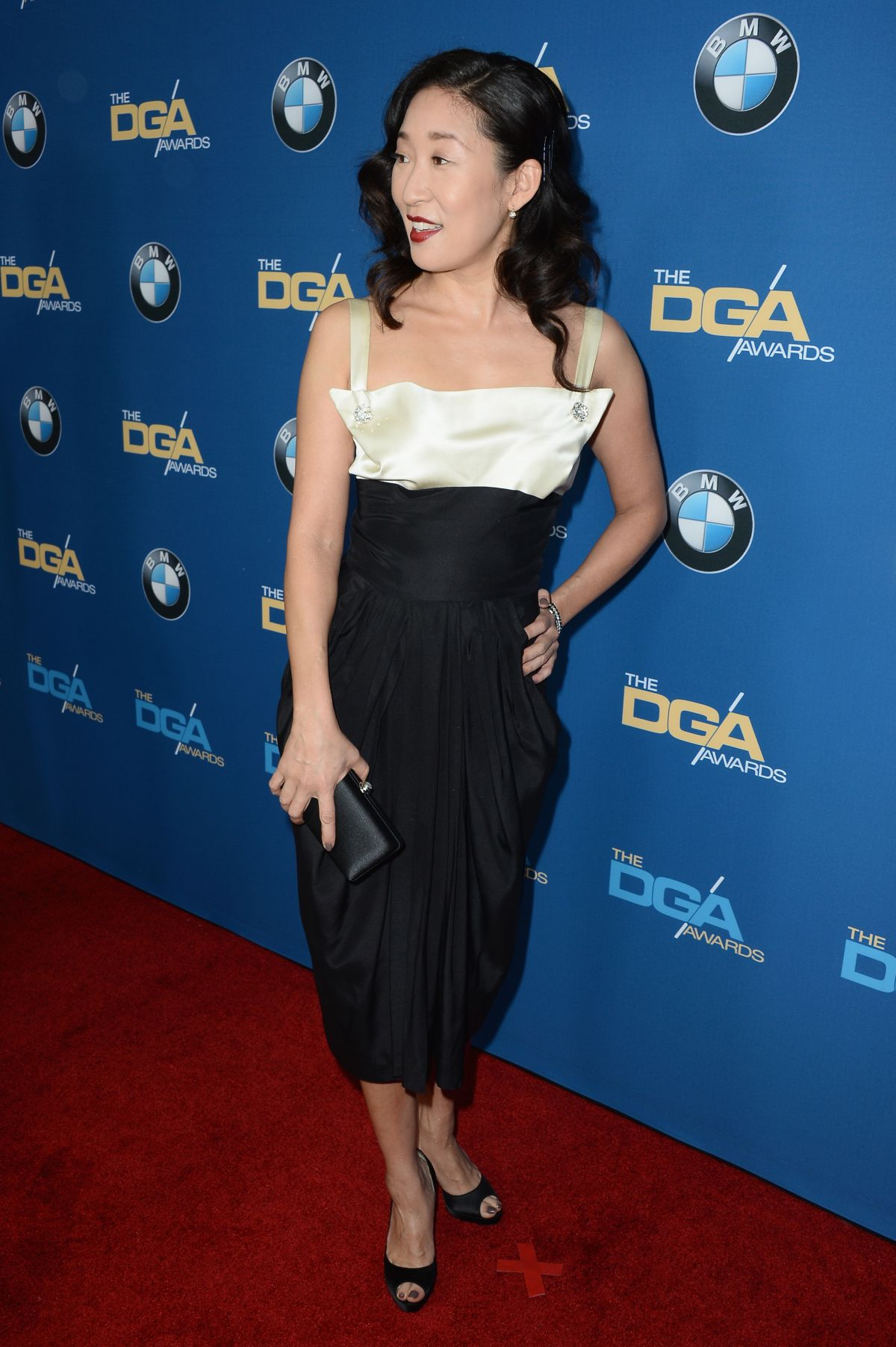SANDRA OH at 2014 Directors Guild of America Awards in Century City ...
