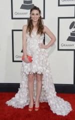 Sara Bareilles at 2014 Grammy Awards in Los Angeles