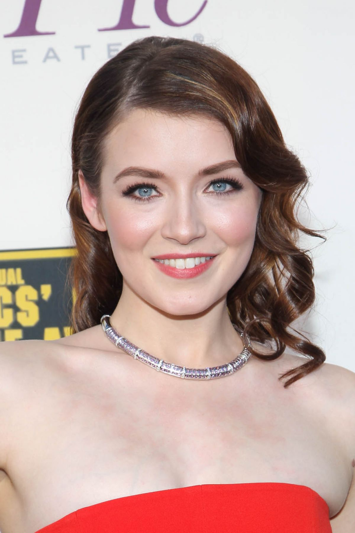 SARAH BOLGER at Critic's Choice Awards in Santa Monica
