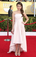 Sarah Hyland at 20th Annual Screen Actors Guild Awards in Los Angeles