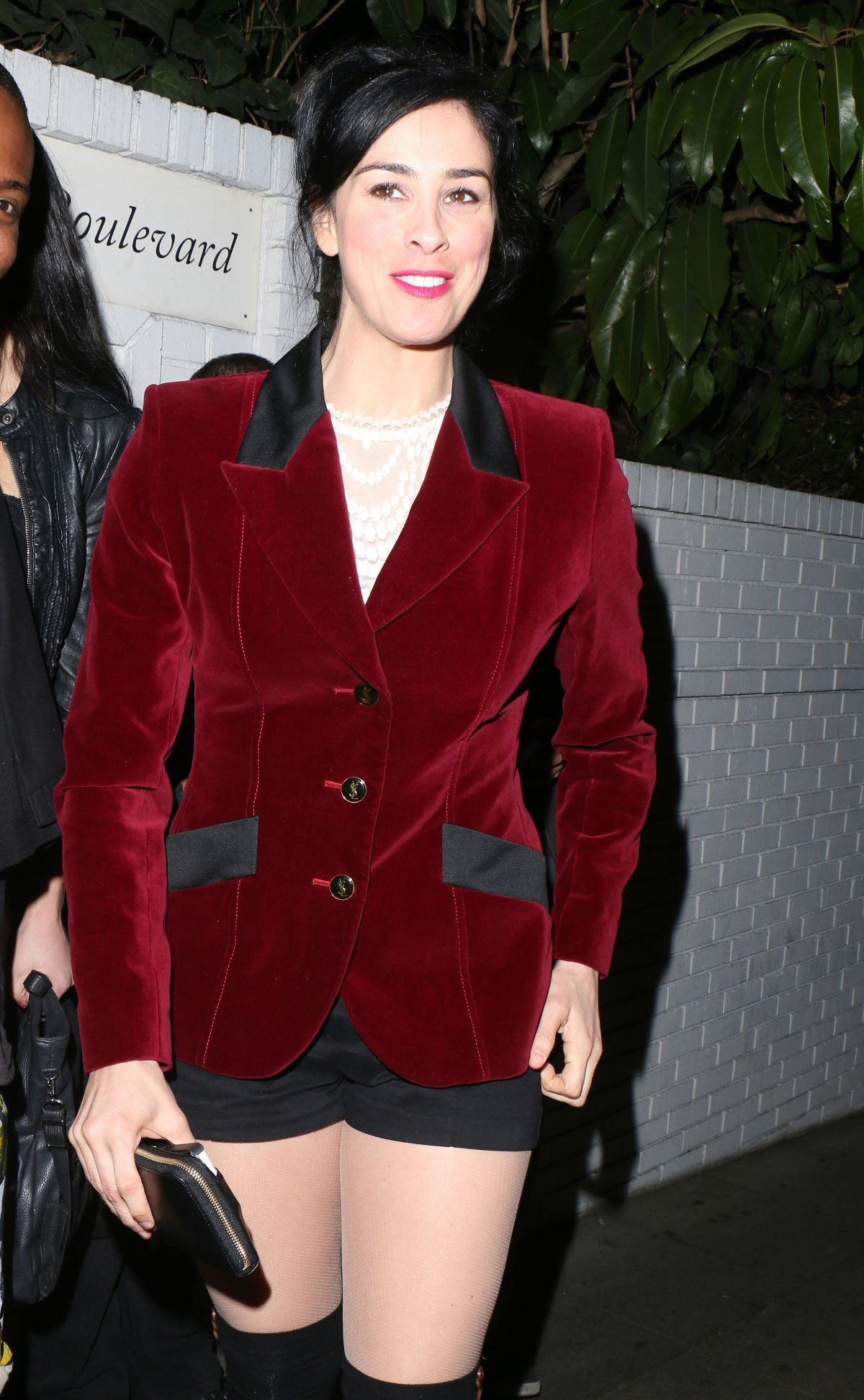 SARAH SILVERMAN at Golden Globes After Party at Chateau Marmont