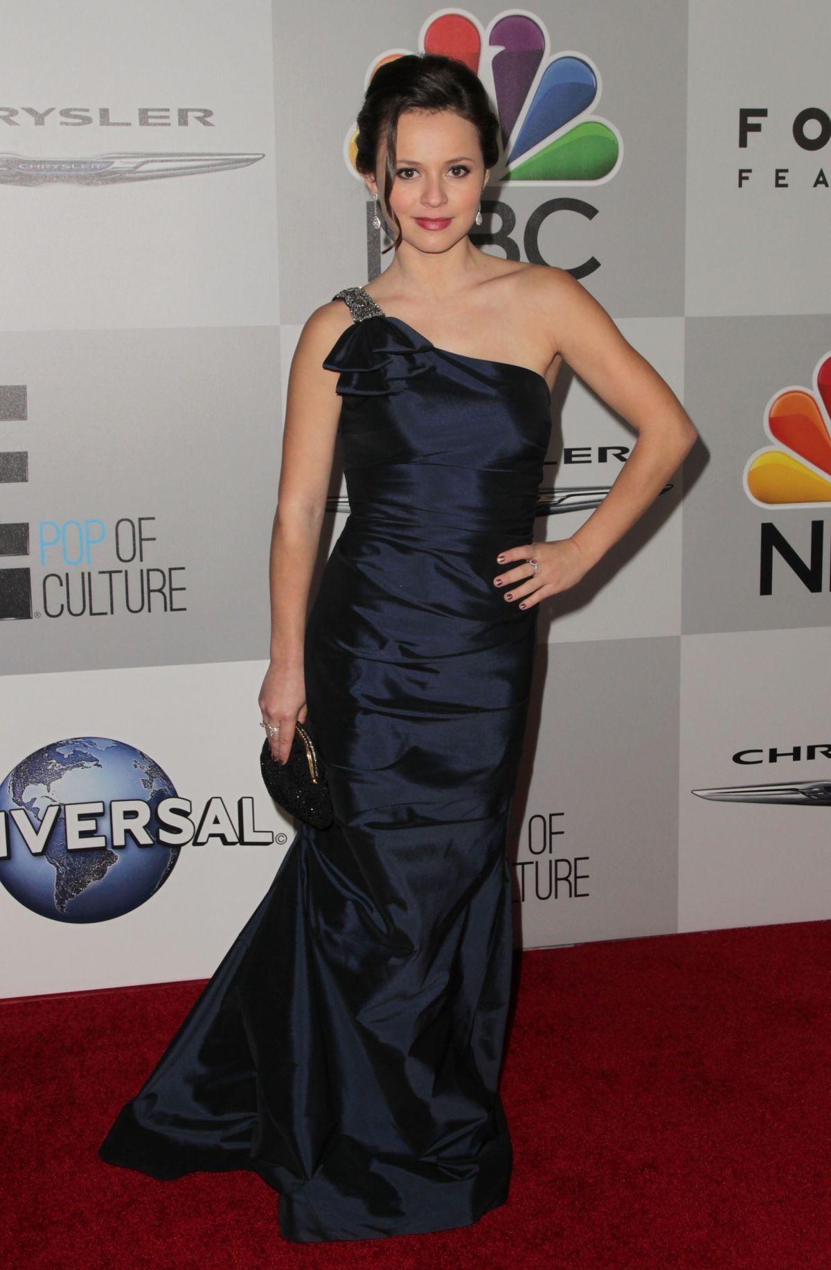 SASHA COHEN at NBC Universal's Golden Globe Aster Party