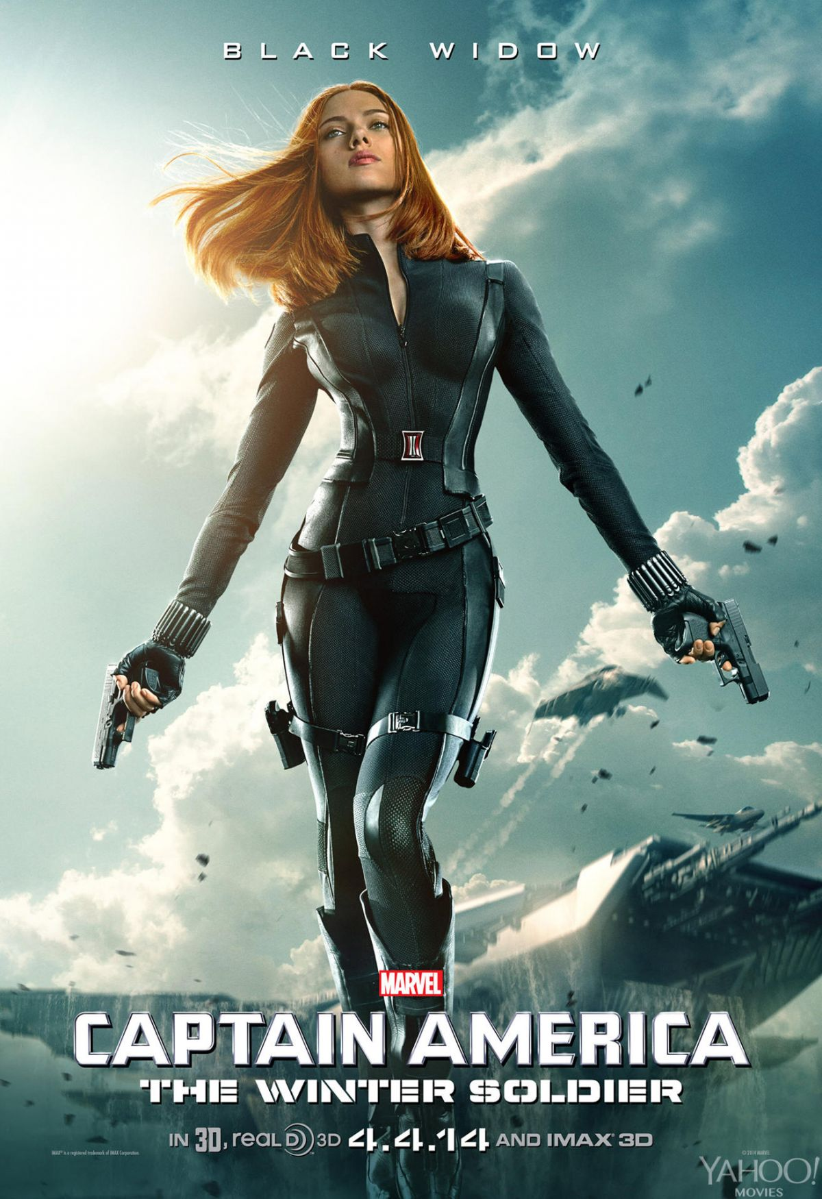 Scarlett johansson black widow poster - photo#3