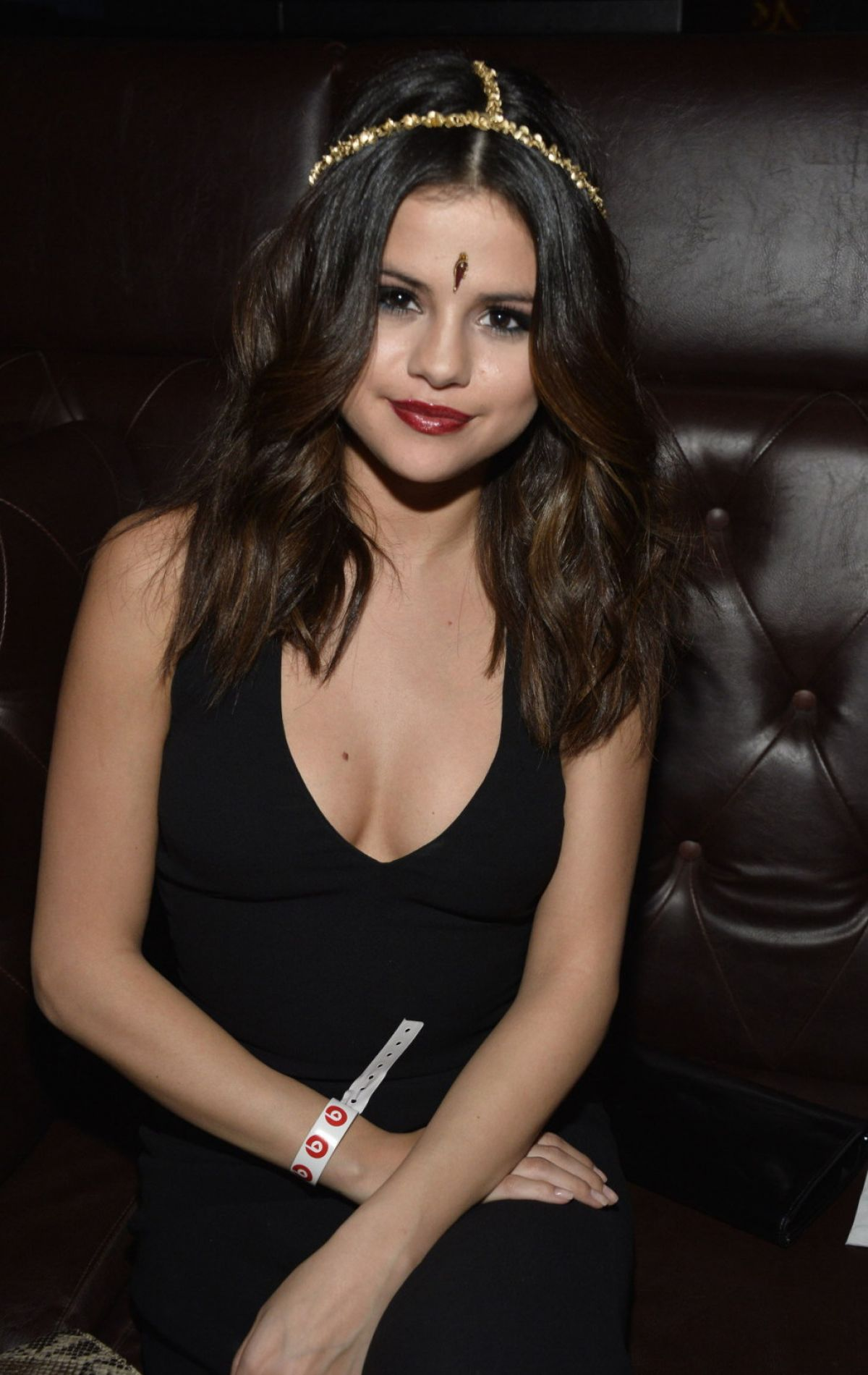 SELENA GOMEZ at Beats Music Launch Party in Los Angeles