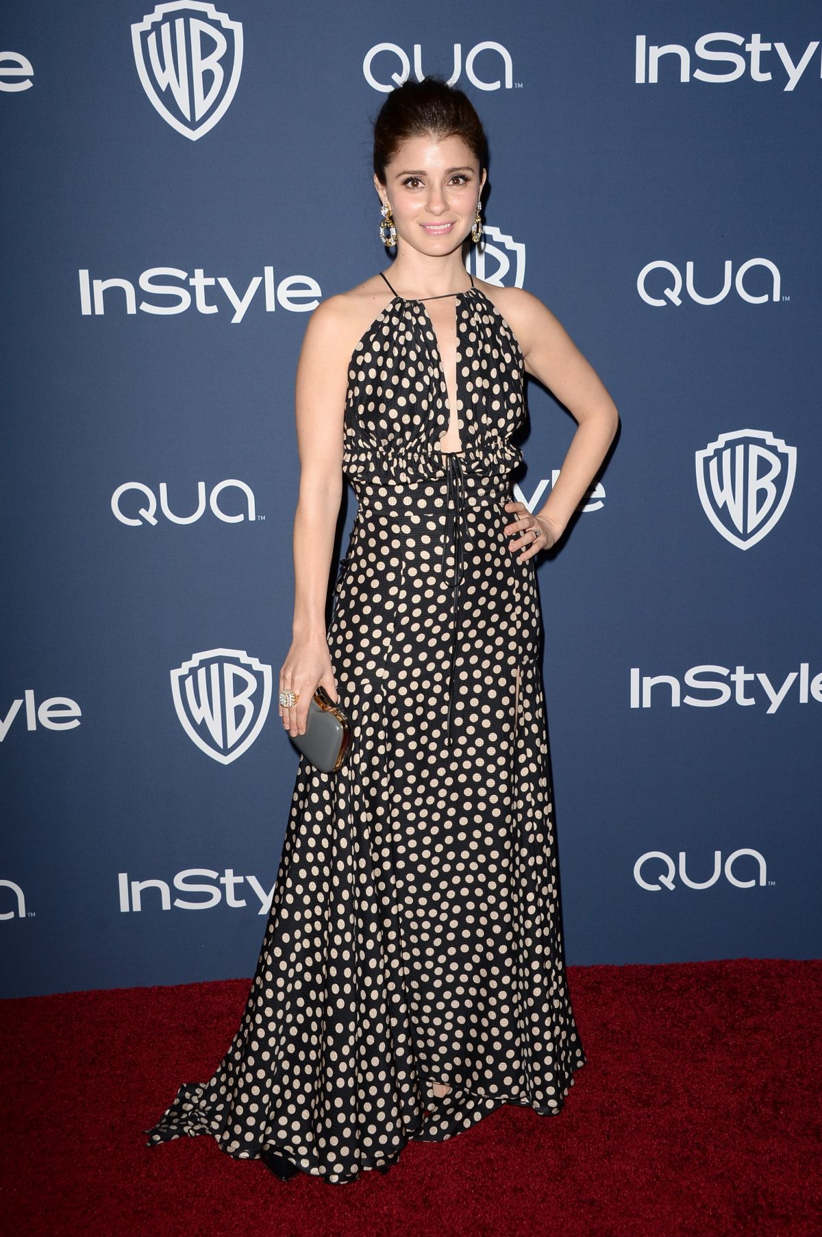 SHIRI APPLEBY at Instyle and Warner Bros. Golden Globes Afterparty