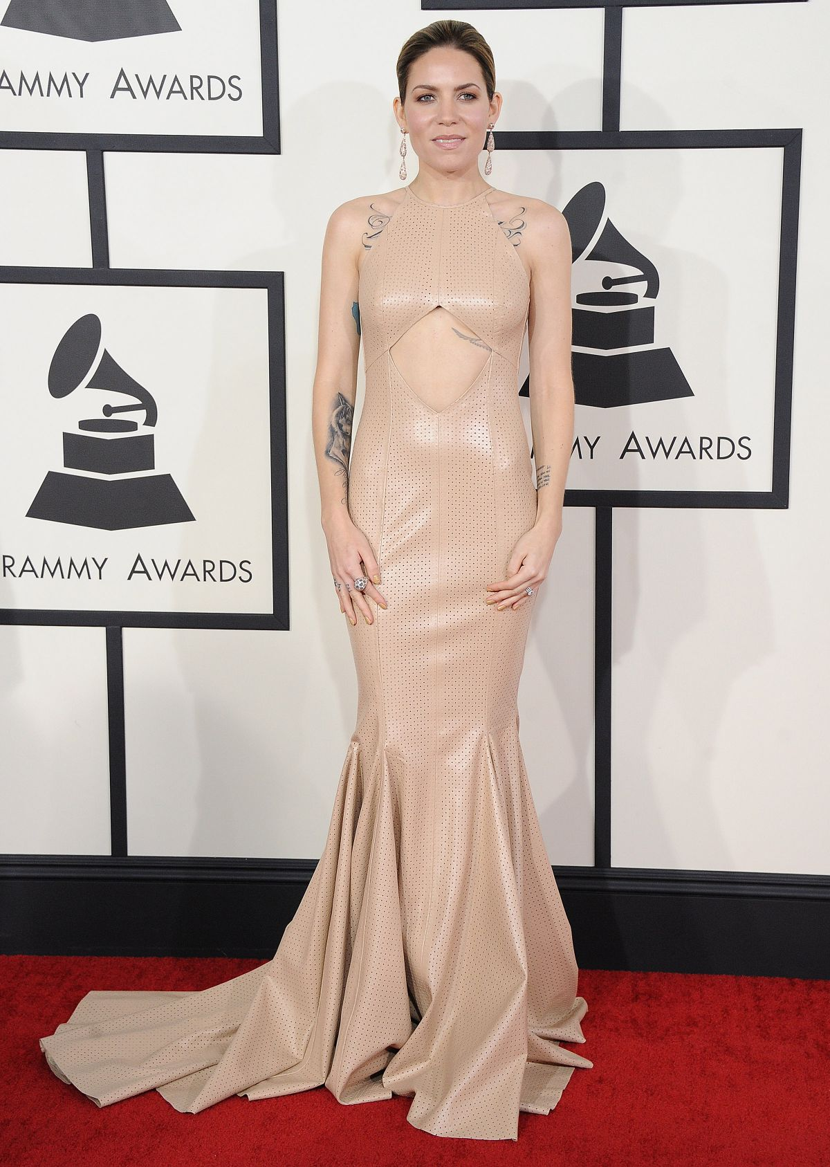 SKYLAR GREY at 2014 Grammy Awards in Los Angeles