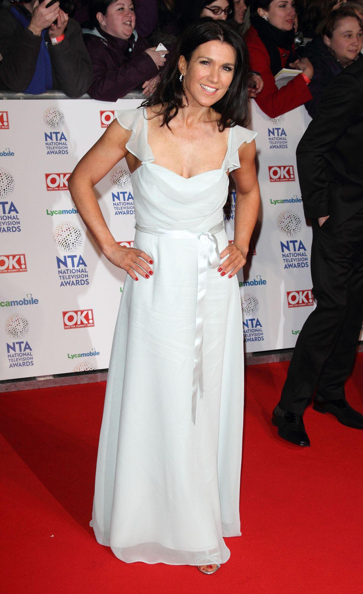 SUSANNA REID at 2014 National Television Awards in London