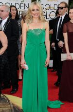 TAYLOR SCHILLING at 71st Annual Golden Globe Awards