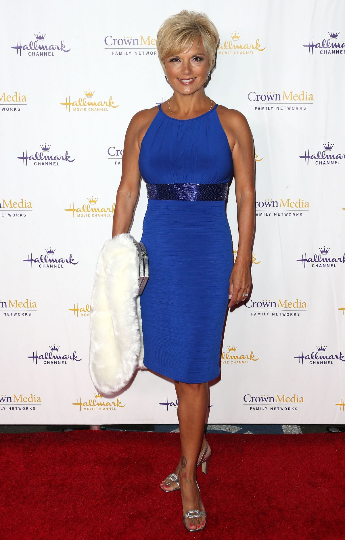 TERYL ROTHERY at Hallmark Channel Winter 2014 TCA Gala