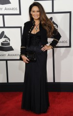Tia Carrre at 2014 Grammy Awards in Los Angeles
