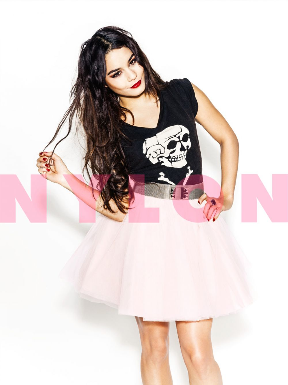 VANESSA HUDGENS in Nylon Magazine, February 2014 Issue