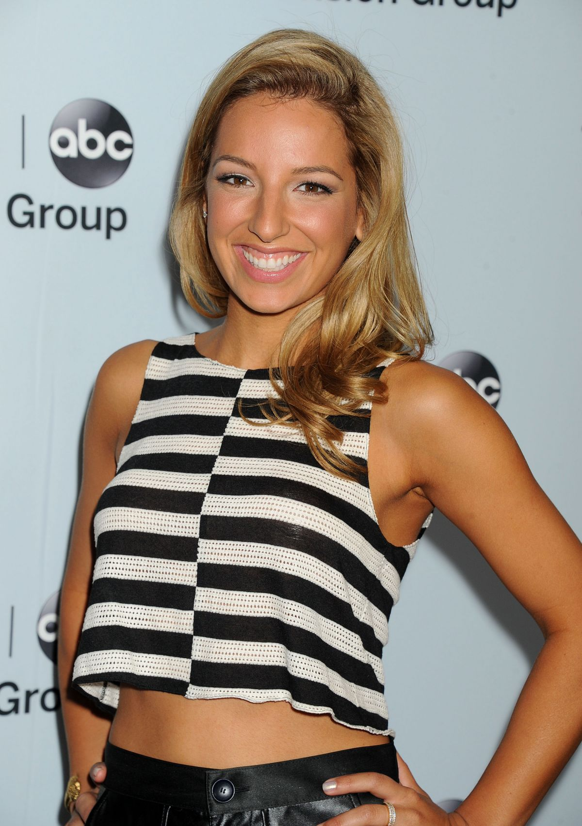 VANESSA LENGIES at Disney ABC Television Group 2014 TCA Winter Press Tour