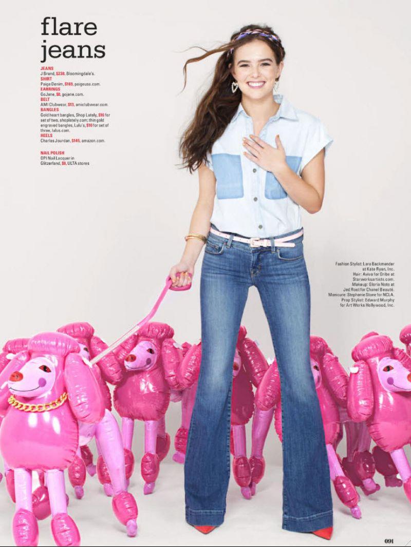 ZOEY DEUTCH in Seventeen Magazine, February 2014 Issue