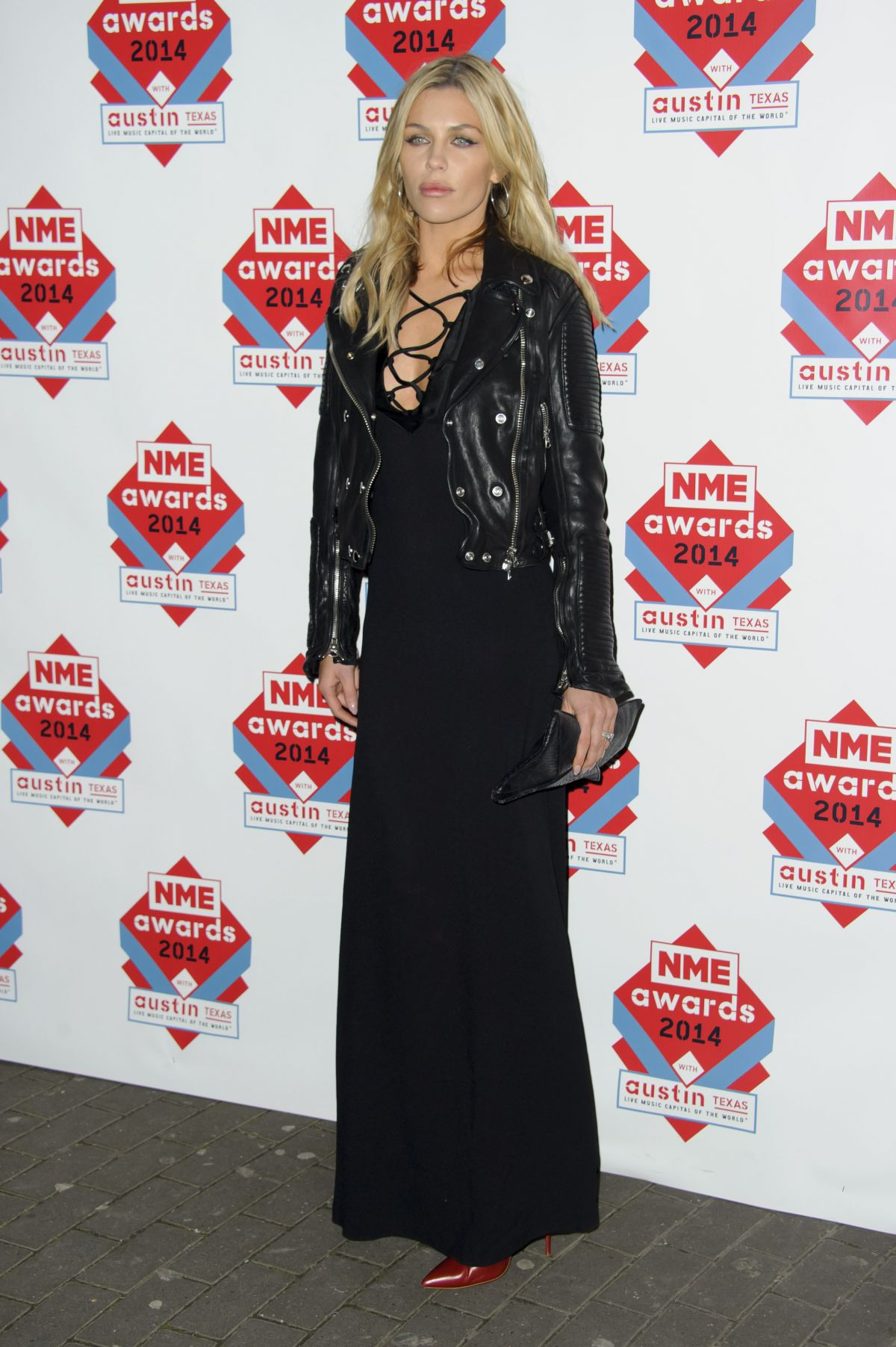 ABBEY CLANCY at 2014 NME Awards in London