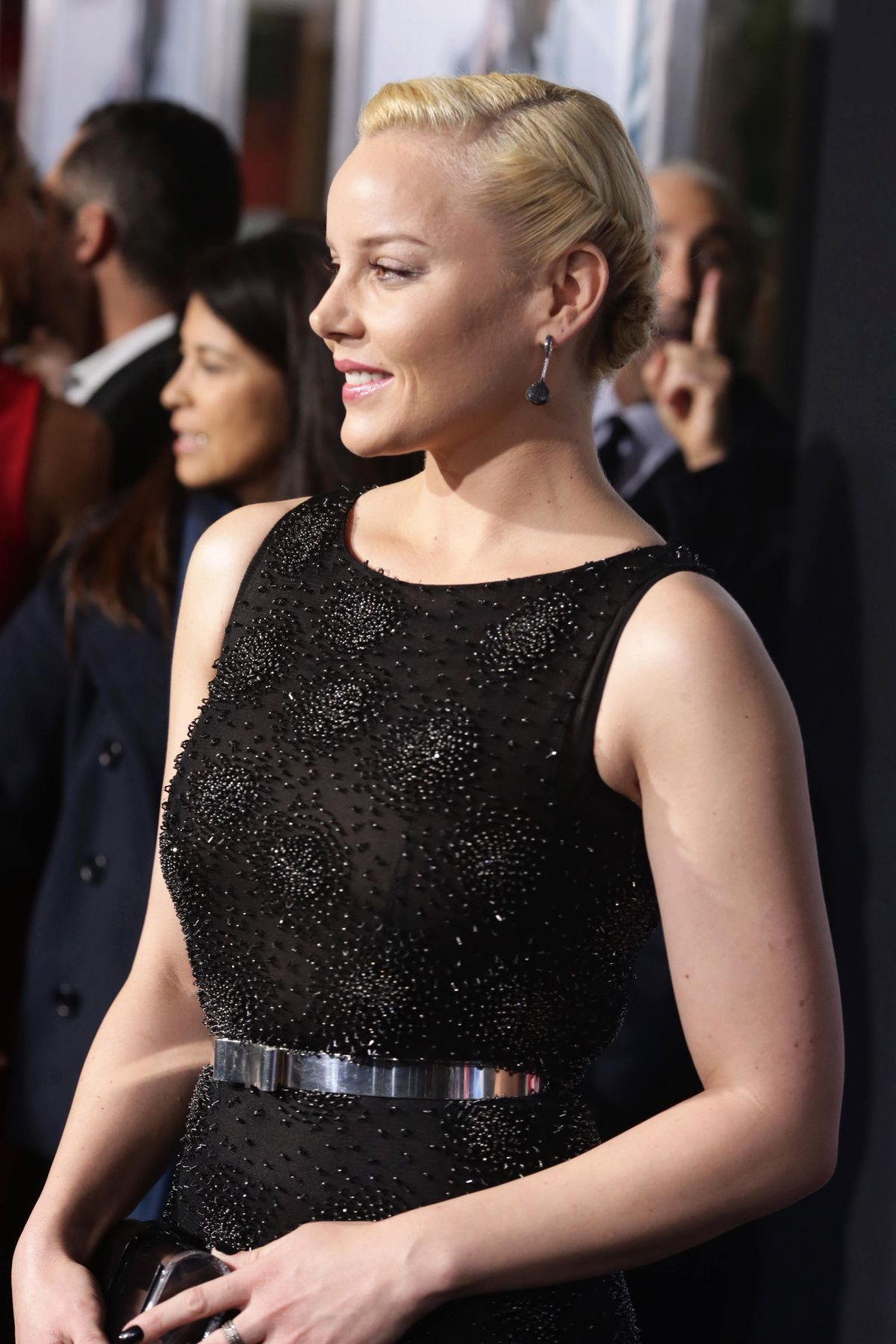 ABBIE CORNISH at Robocop Premiere in Los Angeles