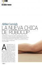 ABBIE CORNISH in DT Magazine, Spain February 2014 Issue