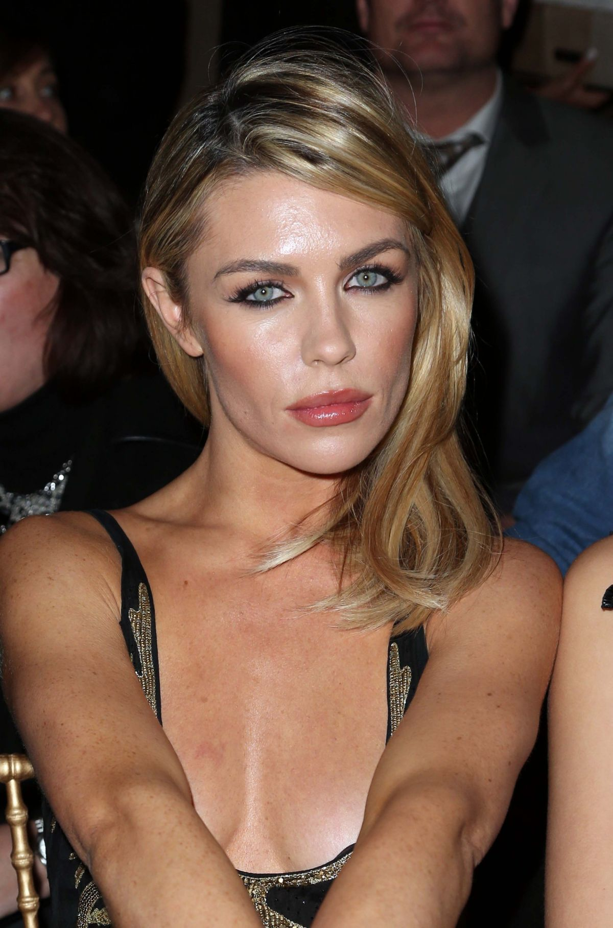 ABIGAIL ABBEY CLANCY at Julien Macdonald