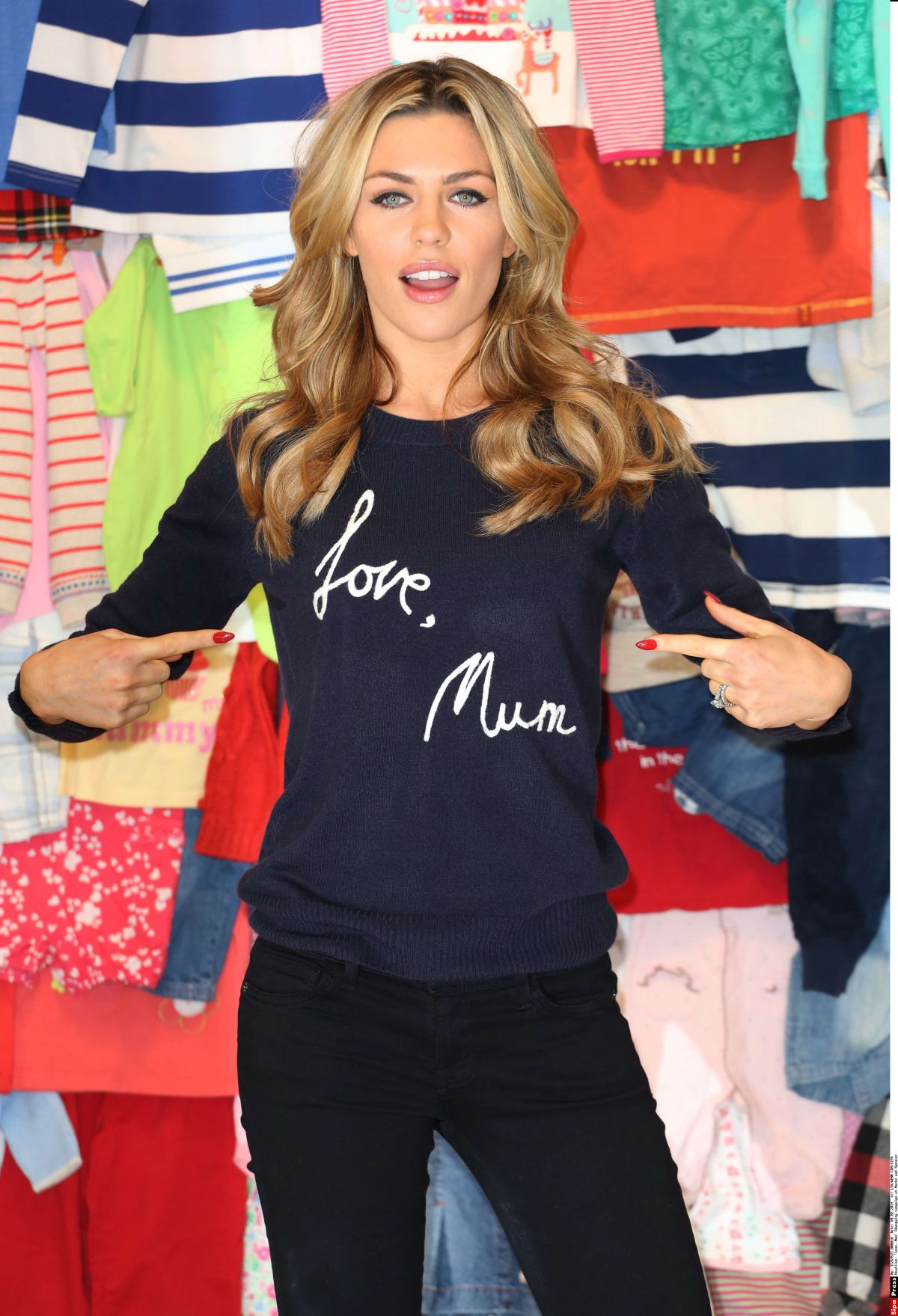 ABIGAIL ABBEY CLANCY at M&S Love, Mum Launch in London
