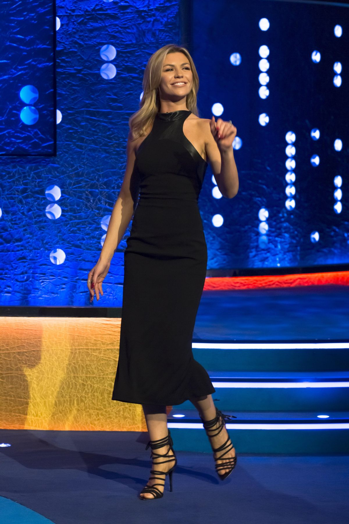 ABIGAIL ABBEY CLANCY at The Jonathan Ross Show in London