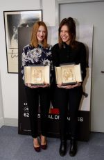 ADELE EXARCHOPOULOS and LEA SEYDOUX Receives Palme D