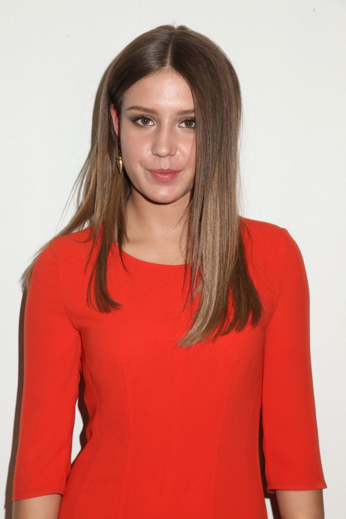 ADELE EXARCHOPOULOS at New York Fashion Week