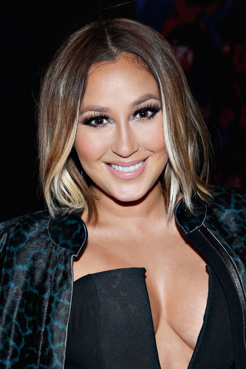 ADRIENNE BAILON at Charlotte Ronson Fashion Show in New York