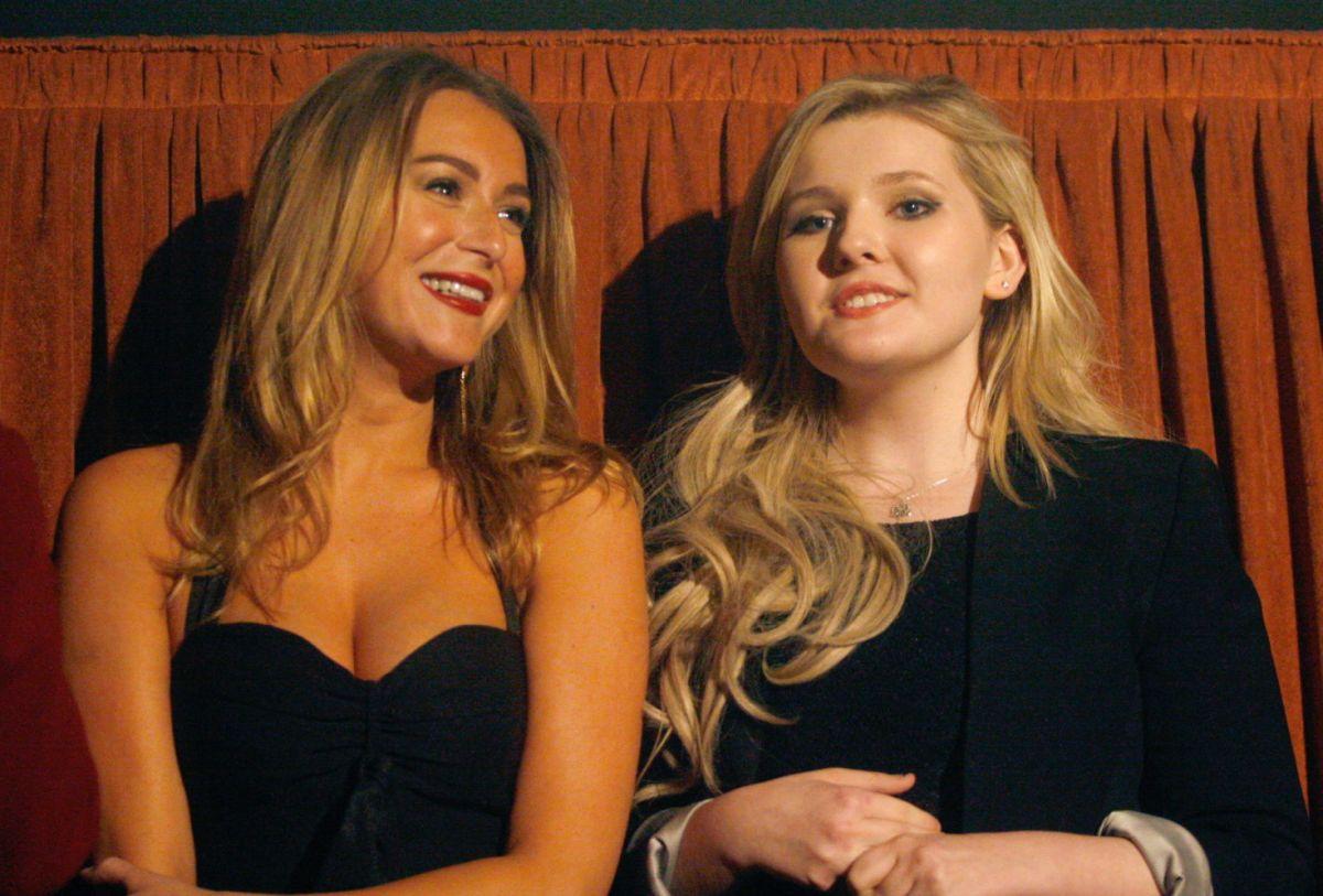 ALEXA VEGA and ABIGAIL BRESLIN at Wicked Blood Screenign at 2014 Santa Barbara Film Festival