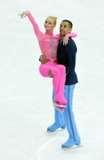 ALIONA SAVCHENKO and Robin Szolkowy at 2014 Winter Olympics in Sochi