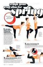 ALISON SWEENEY in Health Magazine, March 2014 Issue