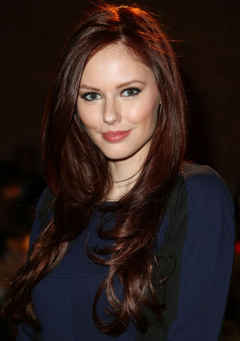 ALYSSA CAMPANELLA at Rolando Santana Fashion Show in New York