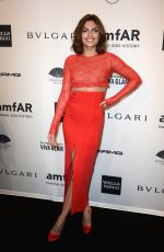 ALYSSA MILLER at 2014 AMFAR Gala in New York